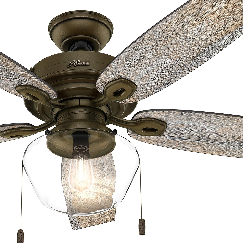 Hunter Fan - Ventilador (52 pulgadas) Ventilador de techo para ...