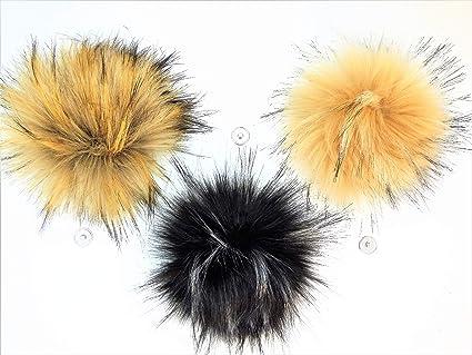 676fc882e76 Amazon.com  Faux Fur Pom Pom Balls