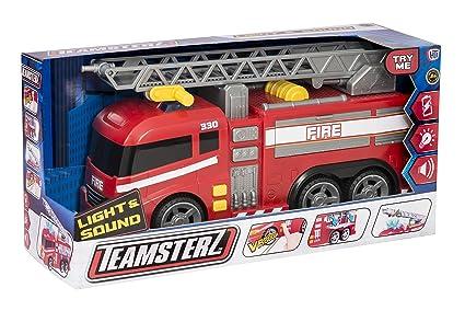 DRIM DISCOUNT Camión de Bomberos 42 cm. con Luz y Sonidos Teamsterz 1416390