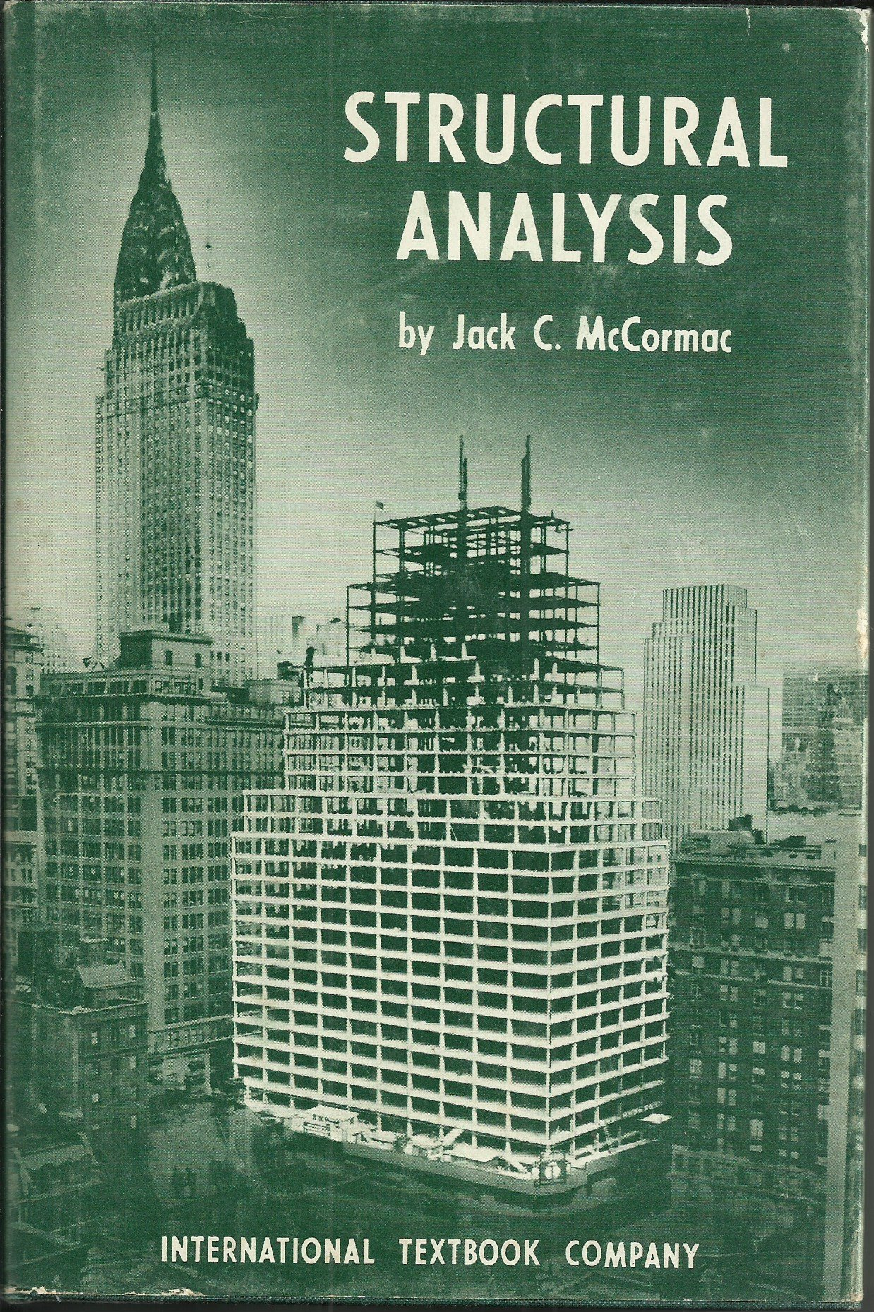 Structural Analysis J C McCormac Amazon Books