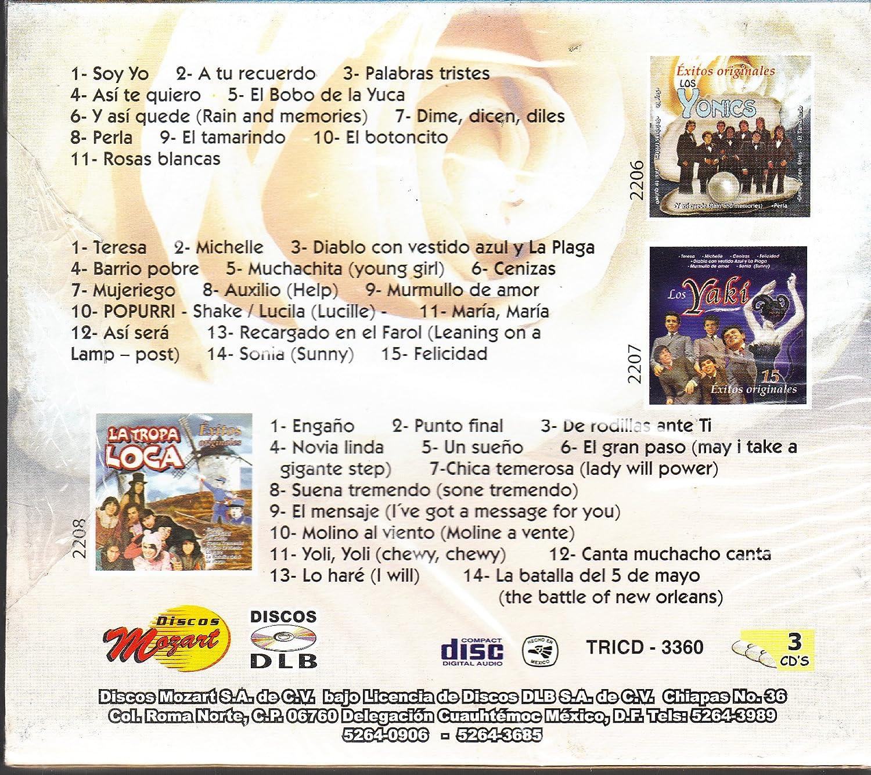 La Tropa Loca, Los Yaki Los Yonics - 40 Exitos Originales: Varios Artistas - Amazon.com Music