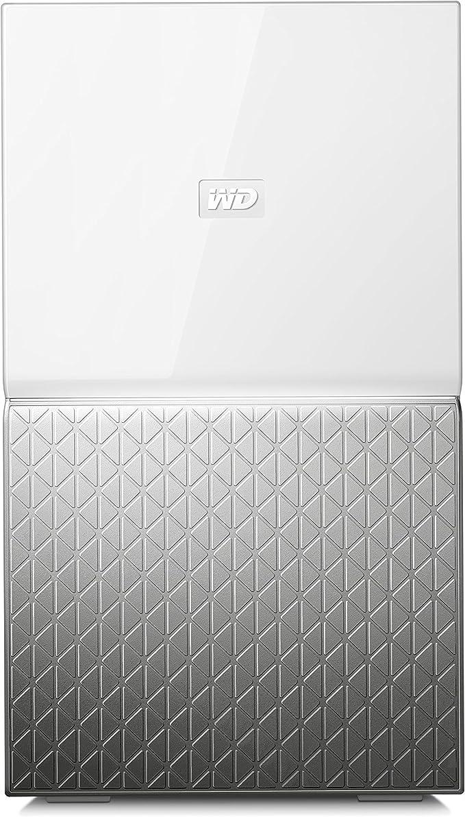 TALLA 12 TB. Western Digital My Cloud Home Duo, Nube Personal, 1, Blanco Y Gris
