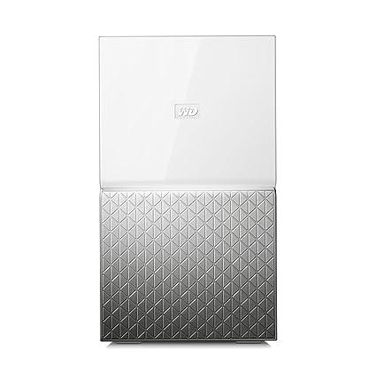 Western Digital My Cloud Home Duo - Almacenamiento en Red NAS de 4 TB con Dos Discos, 2 bahías