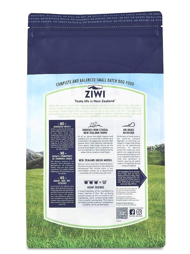 Ziwi Peak Alimento Deshidratado para Perro, Sabor Callo y Cordero ...