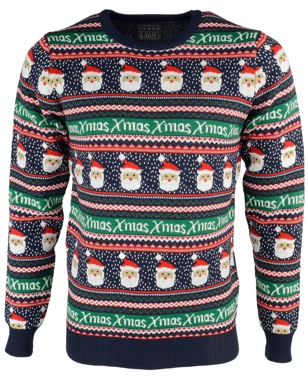 Season's Greetings 'HoHo' Herren Neuheit Christmas Jumper