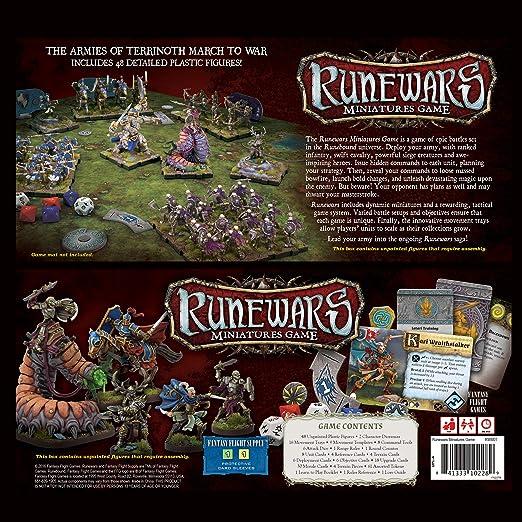 Fantasy Flight Games Juego Marca RUNEWARS de Mesa Guerreros en Miniatura: Amazon.es: Juguetes y juegos