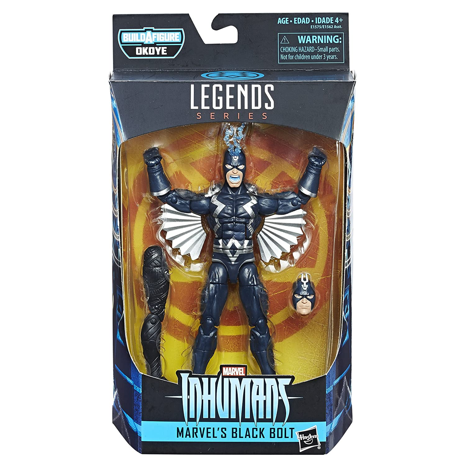 6-inch Hasbro E1575 Marvel Black Panther Legends Series Black Bolt