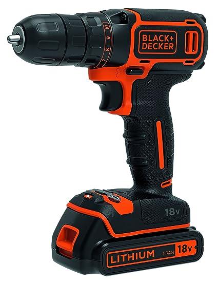 Black Decker BDCDC18-QW taladro/atornillador