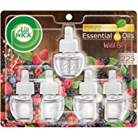 Deals on Air Wick Plug in Scented Oil 5 Refill, Wild Berries 0.67-Oz