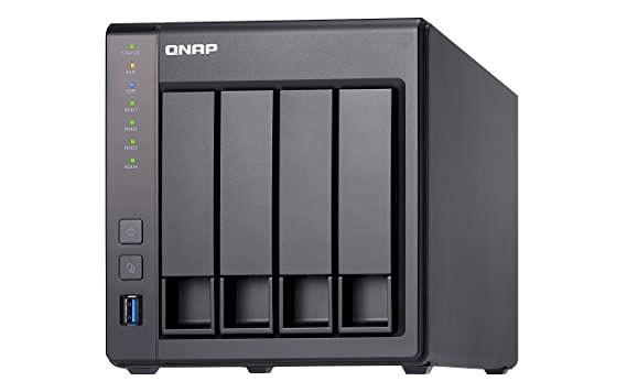 Amazon.com: QNAP TS-431X-8G-US ARM-Based NAS with Hardware Encryption, Duad Core 1.7GHz, 8GB RAM, 1 x 10GbE(SFP+),2 x 1GbE: Computers & Accessories