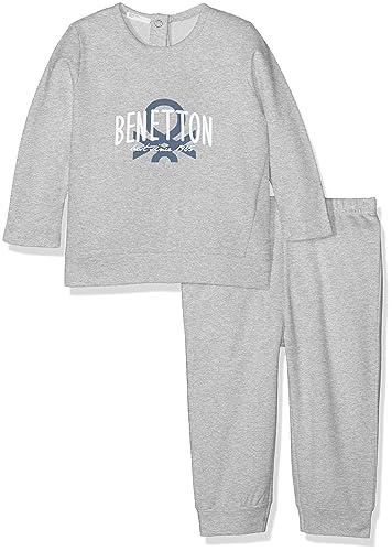 United Colors of Benetton Set Sweater+Trousers, Conjunto de Ropa para Bebés: Amazon.es: Ropa y accesorios