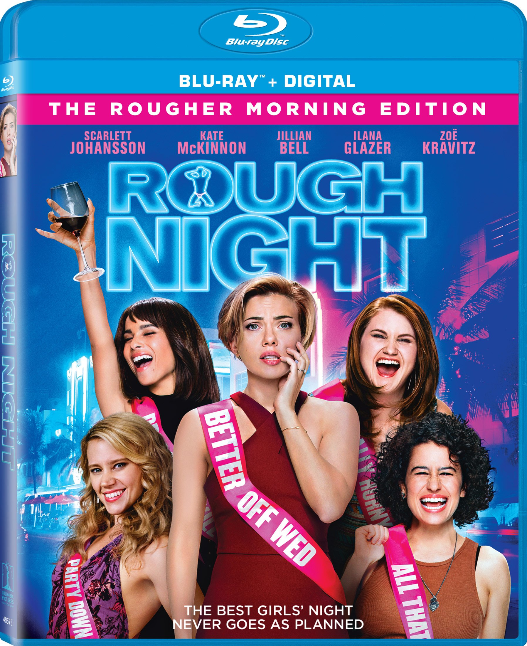 Blu-ray : Rough Night (Ultraviolet Digital Copy, Widescreen, , Dubbed, Dolby)