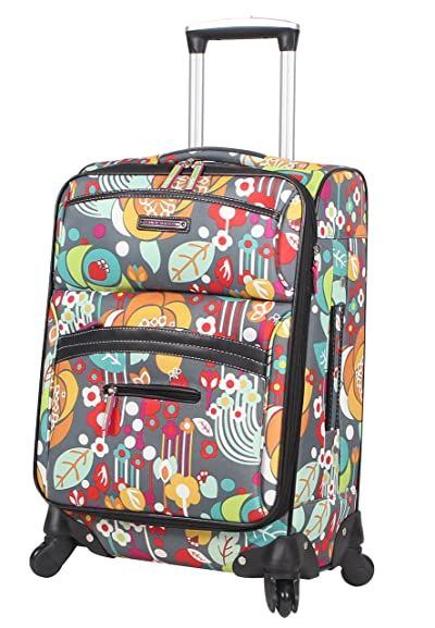Lily Bloom Carry On Expandable Design Pattern Luggage