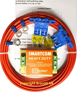 smartcom voltage sensing split charge relay kit 12volt 30amp smartcom heavy duty relay wiring diagram at Smartcom Relay Wiring Diagram