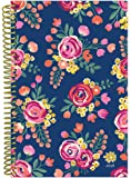 """bloom daily planners 2018 Calendar Year Daily Planner - Passion/Goal Organizer - Monthly and Weekly Datebook and Calendar - January 2018 - December 2018 - 6"""" x 8.25"""" - Vintage Floral"""