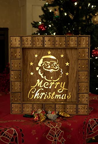 Top 21 Wooden Christmas Advent Calendars 2019