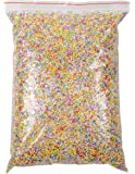 Foam Beads for Slime - 90,000-Piece Slime Beads, 0.08-0.2 Inch Micro Foam Balls for Slime Making, Arts and Crafts, DIY Projects, Home Decorations, Assorted Pastel Colors, 12 x 8.5 x 2.25 Inches Bag