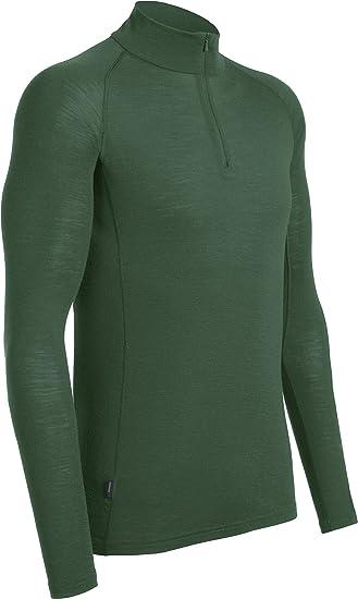 709f31541ab Amazon.com: Icebreaker Merino Men's Everyday Midweight Base Layer Half Zip  Pullover Top, Merino Wool: Clothing