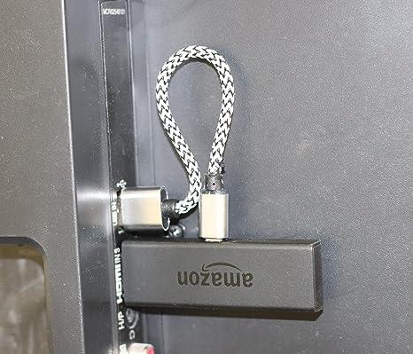 Firepower trenzado USB de alimentación para Fire TV Stick ...