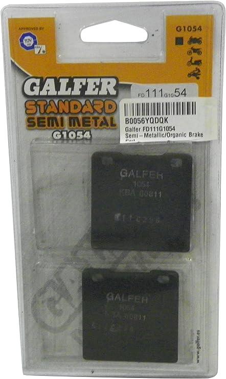 Galfer FD176G1054 Semi-Metallic//Organic Brake Pad
