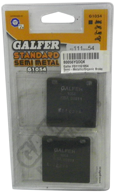 Galfer FD111G1054 Semi-Metallic//Organic Brake Pad