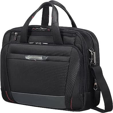 Samsonite PRO-DLX 5 - Bailhandle Expandable for 15.6 pulgadas Laptop 17/23L 2.6 Kg Maletín, 42 cm, 17 litros, Negro (Black)