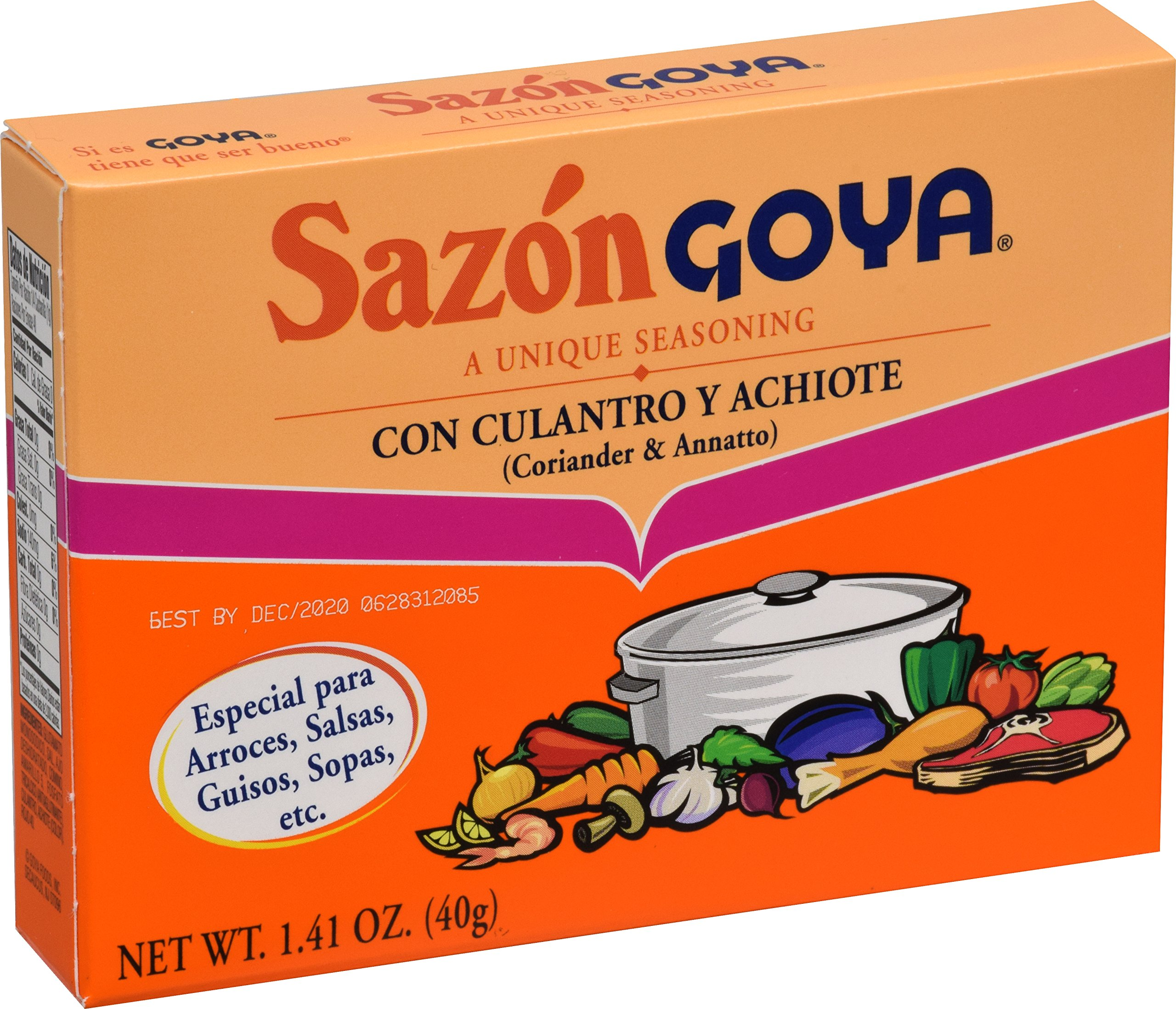 Goya Foods Sazon Coriander & Annatto, 1.41 Ounce (Pack of 36) by Goya (Image #3)