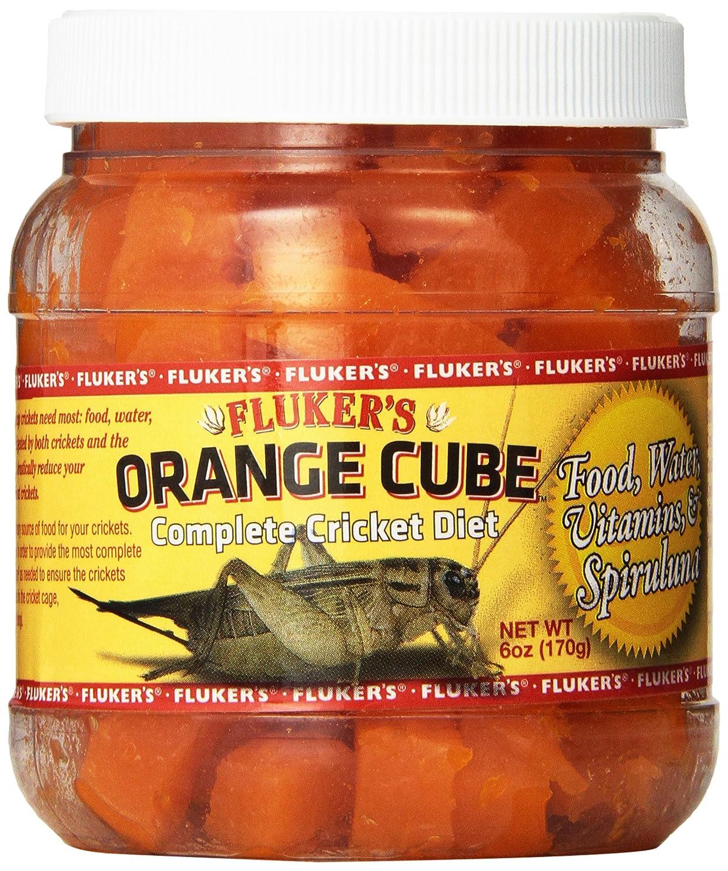 Fluker'S 6 oz Orange Cube Complete Cricket Diet Fluker Labs 71300