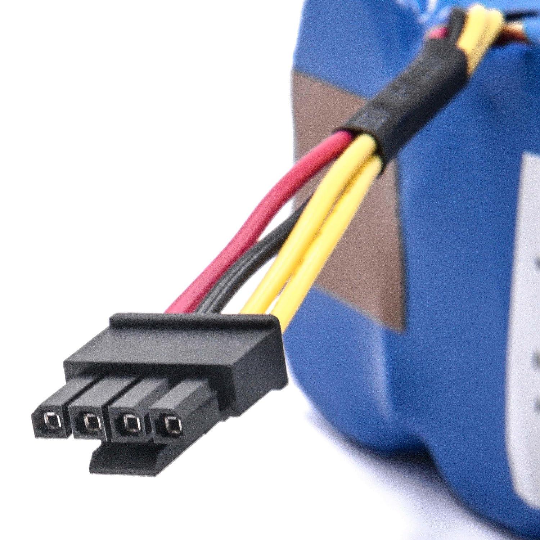 INTENSILO Batería NiMH 4500mAh (14.4V) para robots aspirador doméstico Haier SWR-T320, SWR-T321, SWR-T322, SWR-T325 reemplaza LP43SC2000P.: Amazon.es: Hogar