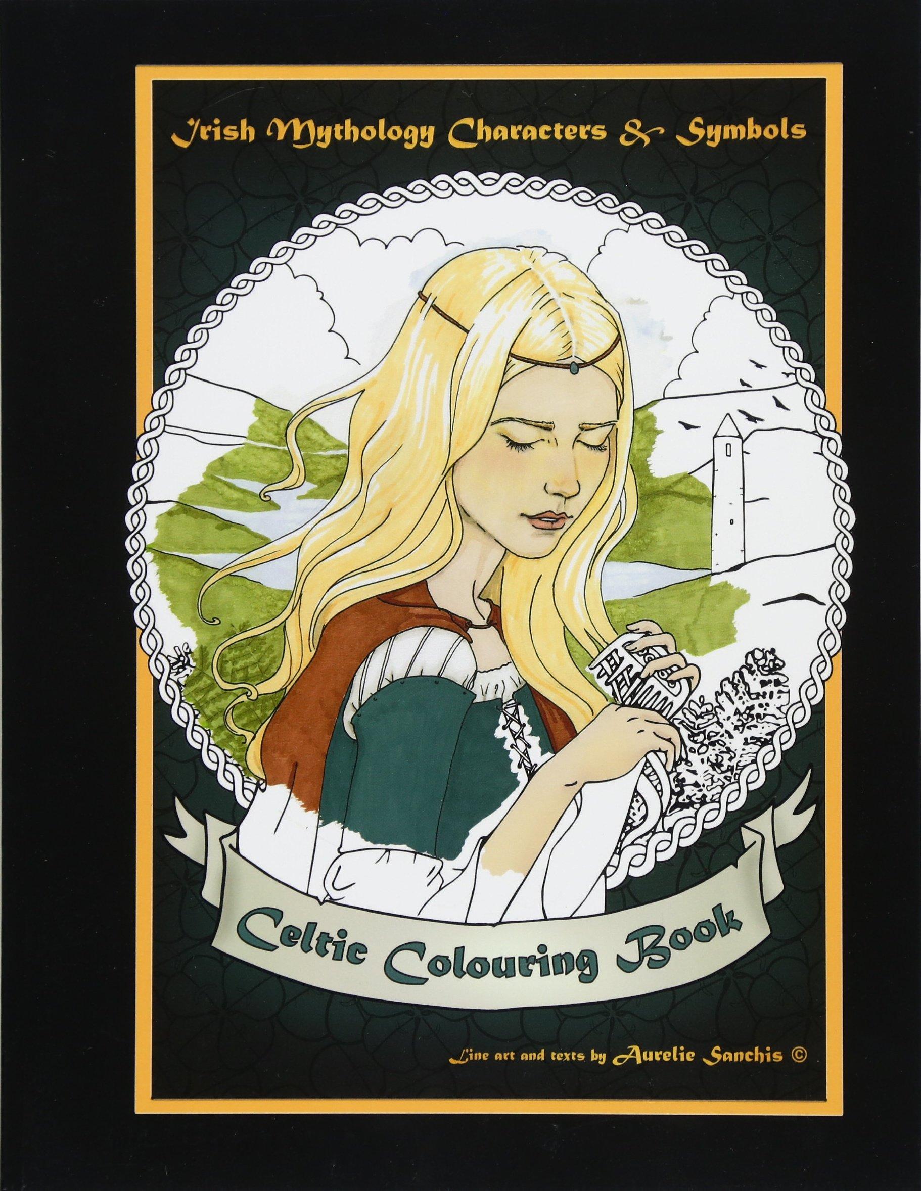 Amazon com: Celtic Colouring Book of Irish Mythology