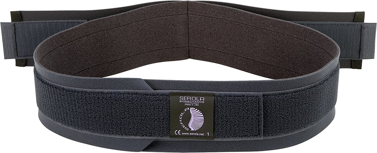 "SEROLA Sacroiliac Belt, Large – Fits 40"" to 46"" Hip Measurement: Health & Personal Care"