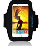 [TOP RATED] iPhone 6, 6s 4.7 Armband - VoFit By EnnoVoTech- Sport Armband Case for iPhone(6 & 6s 4.7 , 5 and 5s) And iPod with Key Holder Pocket, Fully Adjustable, Easy Earphone Connection, best for Gym, Sports Fitness, Running, All Kinds of Workouts - for Man and Woman (Black)