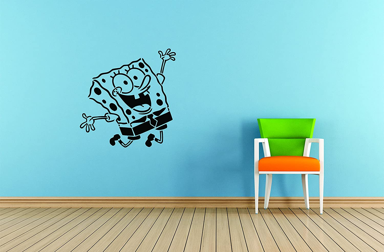 SpongeBob SquarePants VINYL WALL STICKER WALL DECALS
