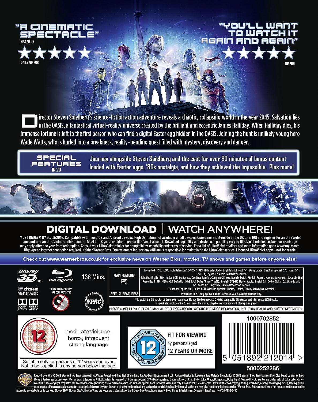 Blu ray 3D Ready Player One (Steven Spielberg, 2018) Página 4