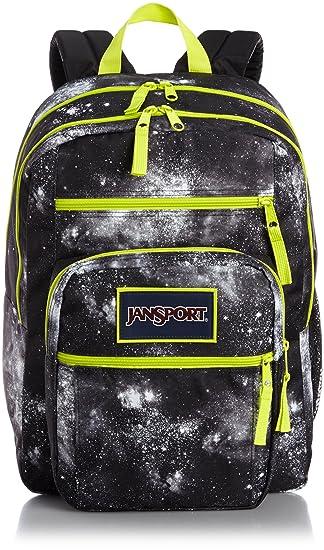 Amazon.com: Jansport Big Student Overexposed Black Galaxy T75K02D ...