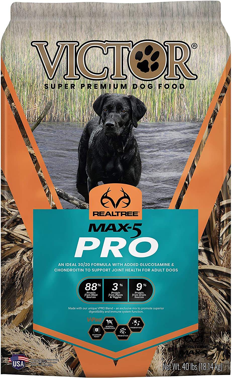 VICTOR Realtree MAX-5 PRO, Dry Dog Food