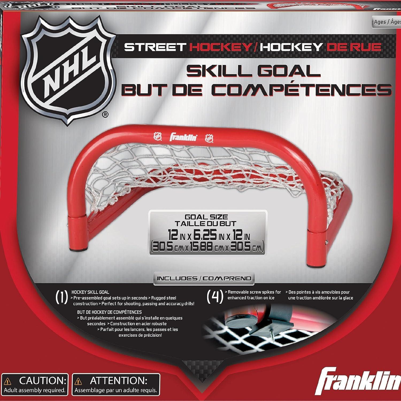 Franklin Sports Hockey Skills Goal NHL 12 x 6.25 Inches