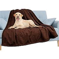 PAVILIA Waterproof Blanket   Water Resistant, Pee Proof Couch Sofa Bed Protector Cover for Baby, Elders   Premium Soft…