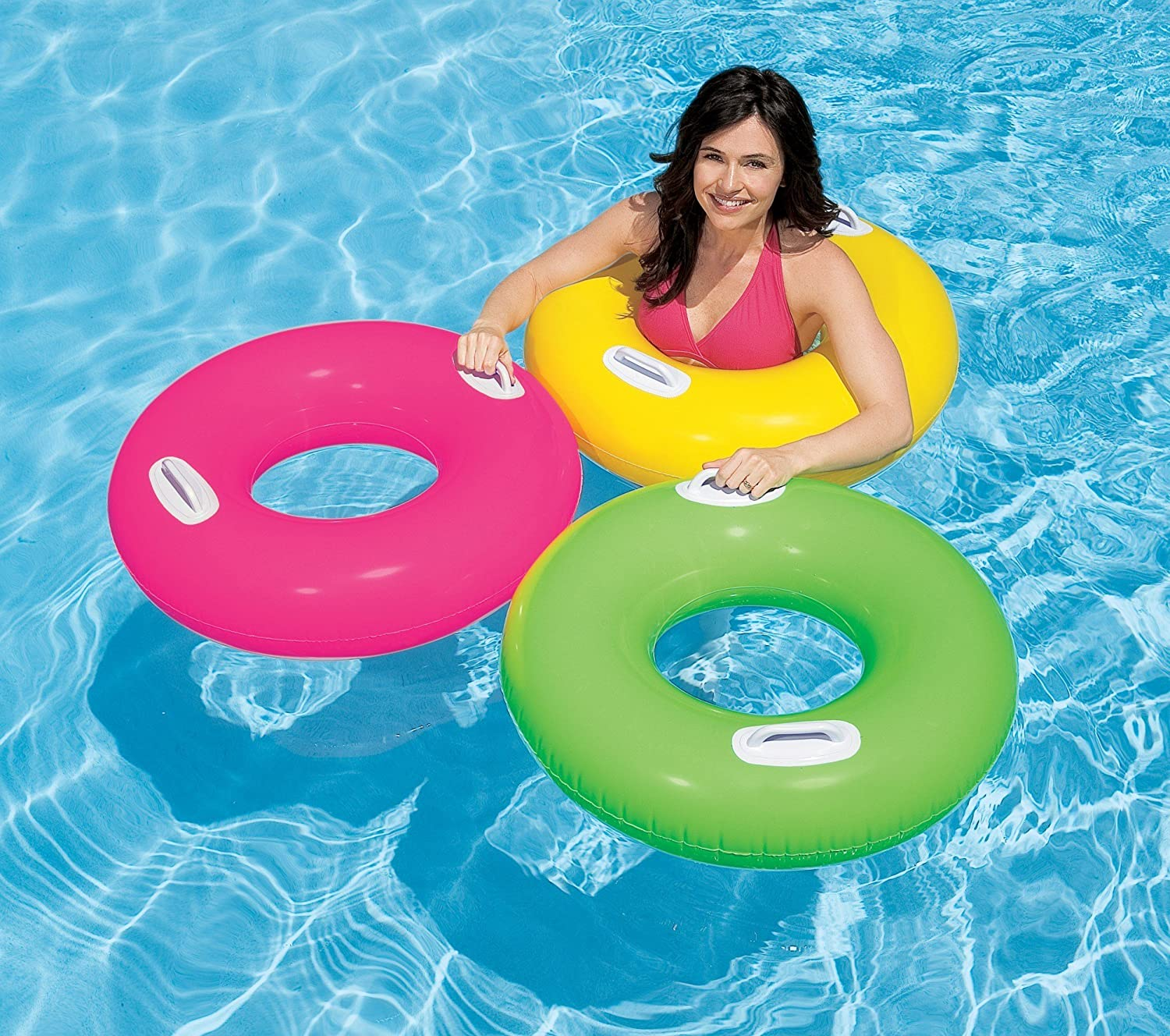 Nice Buy 1 Piece Intex 30 Inch Inflatable Pool Swim Tube With Two Handles   For  Ages 8+ Years Online At Low Prices In India   Amazon.in