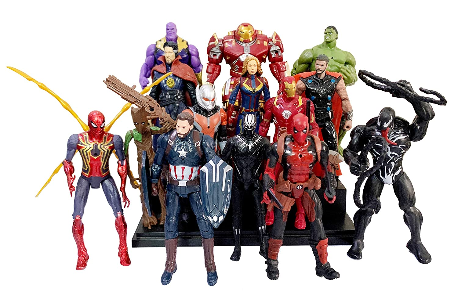 Marvel Thanos Avengers Iron Man Thor Doctor Strange Hulk Captain America Groot