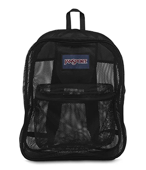 8f9835fa905f Amazon.com  JanSport Mesh Pack Backpack - Black  Sports   Outdoors