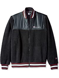 Champion Mens Sherpa Baseball Jacket Insulated Jacket