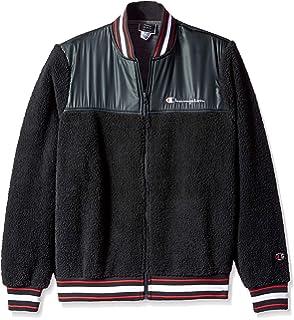 9f716c8da75c Amazon.com  Champion LIFE Men s Sherpa Lined Coaches Jacket  Clothing