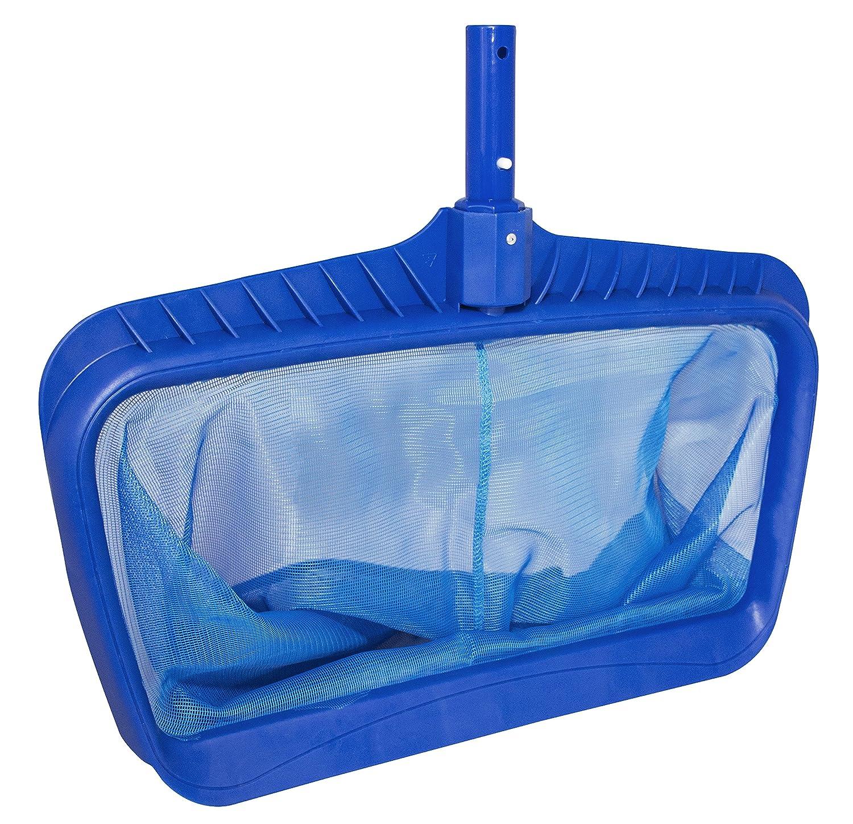 B000MOIWWM Swimline Professional Heavy Duty Deep-Bag Pool Rake, Blue 91kbgmYnmWL