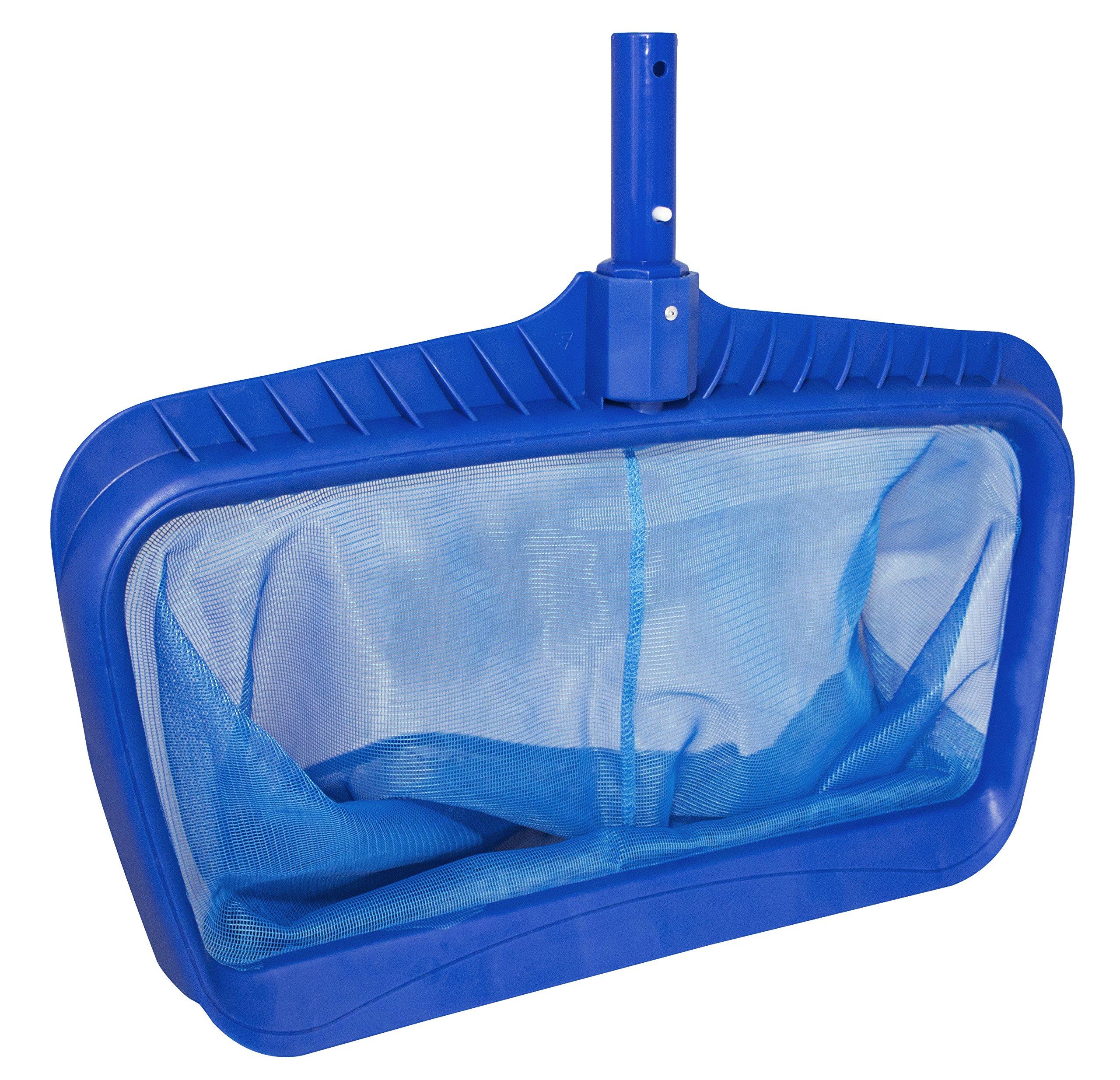 Swimline Professional Heavy Duty Deep-Bag Pool Rake, Blue by Swimline