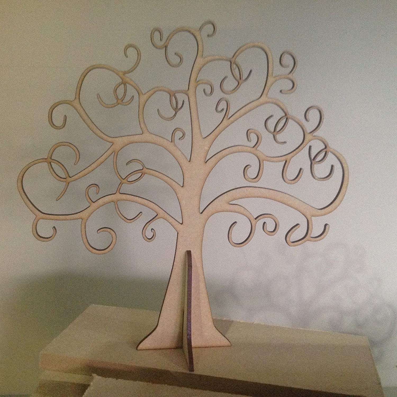 Wooden Family Tree Buy 2 Get 3rd Free 40cm X 40cm