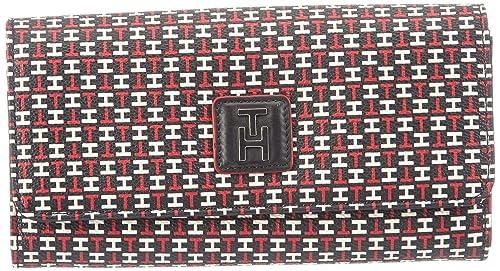 Tommy Hilfiger Hannah E/W Large Wallet - Monedero de Material sintético Mujer