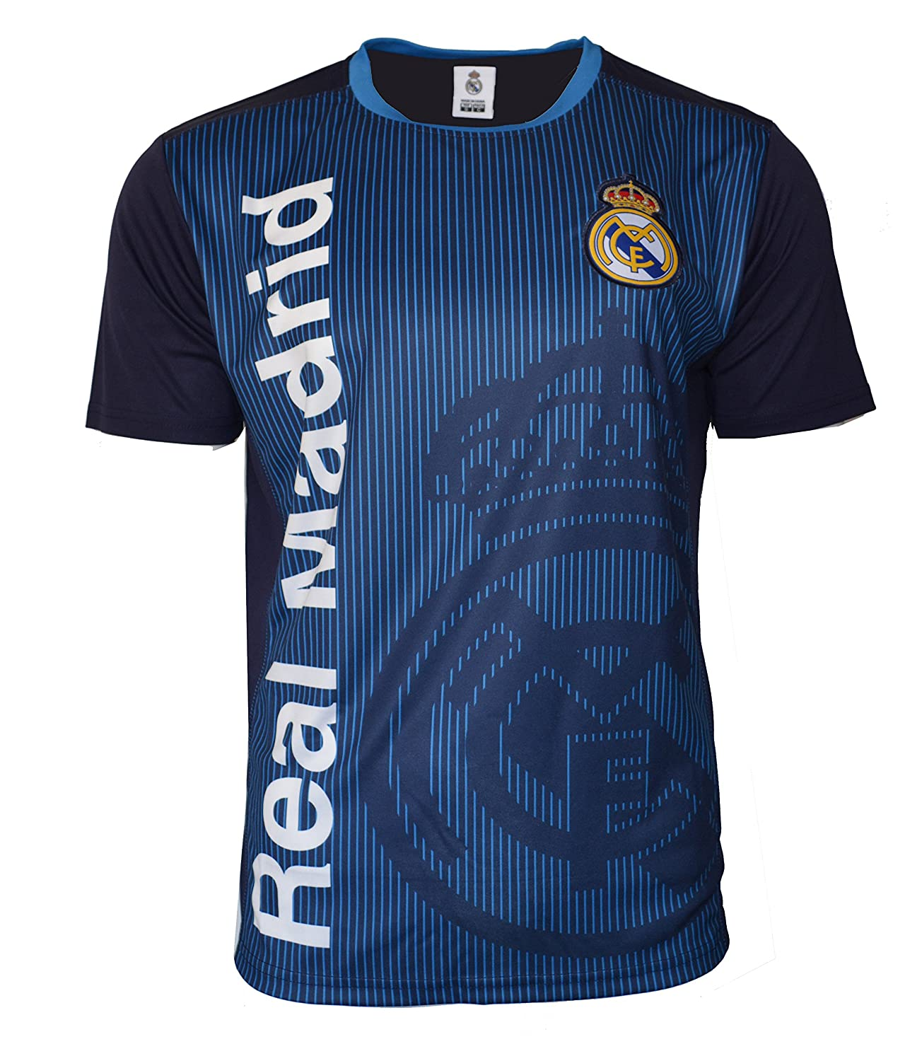 huge selection of d011e 01bd9 ICON SPORTS Real Madrid Soccer Jersey Adult Men's Training Custom Name and  Number