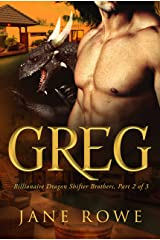 Greg: A BBW BWWM Billionaire Paranormal Arranged Marriage Romance (Dragon Shifter Brothers Book 2) Kindle Edition