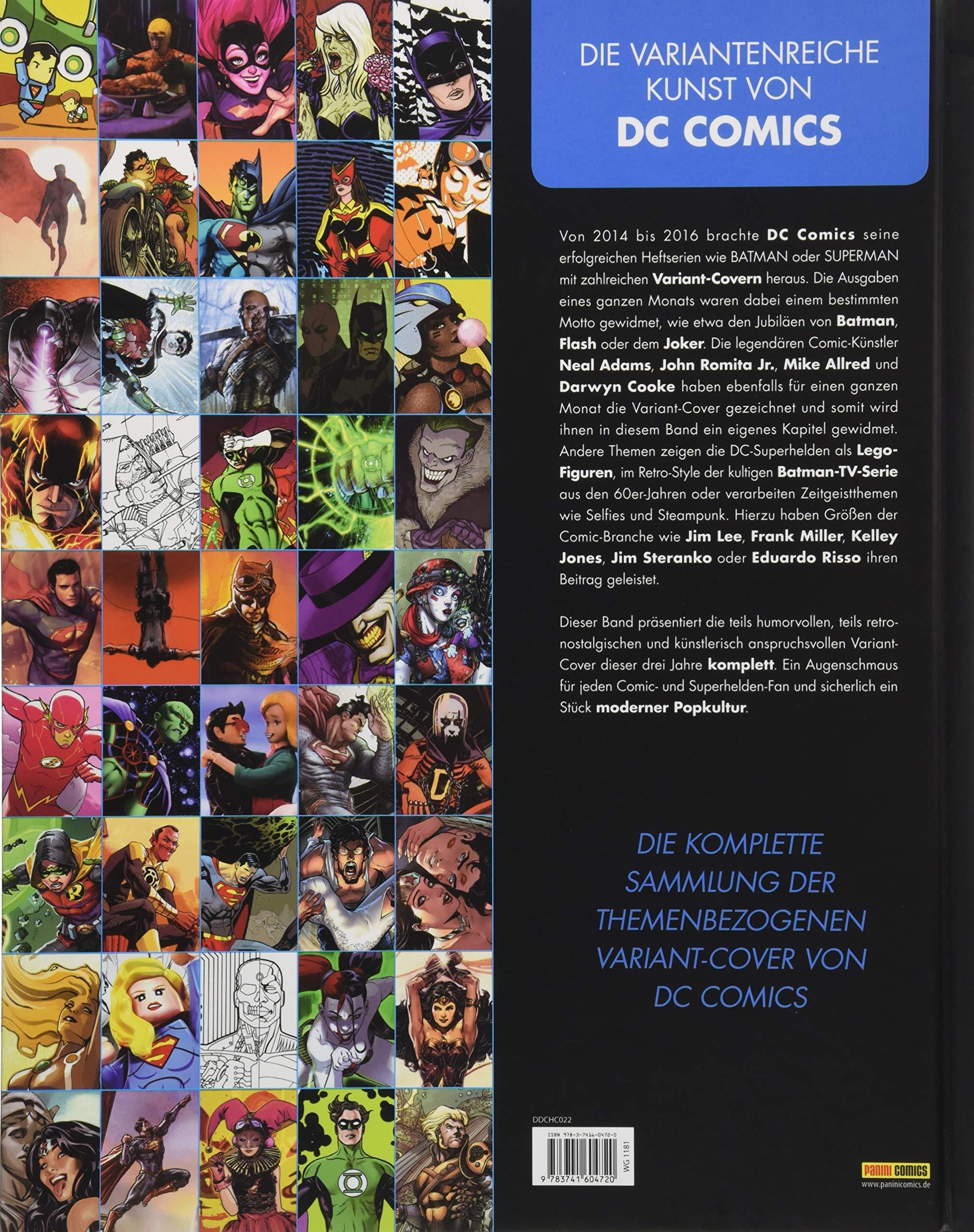 Art of DC - Die hohe Kunst der Comic-Cover: Amazon.de: Panini: Bücher